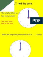 Maths Time o'Clock