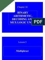 DIGITAL ELECTRONICS Multiplexer