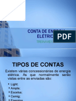 Conta de Energia Elã‰Trica 2014