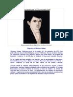Biografia de Mariano Melgar