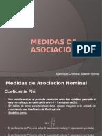 Medidas de Asociación Nominal