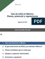 Gas de lutita en Mexico