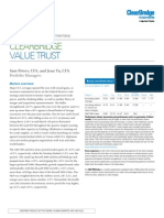 Lmcm Value Trust Commentary