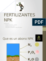 FERTILIZANTES NPK
