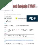 Correction l'Examen de Thermodynamique S1