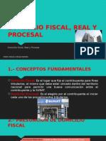 Domicilio Fiscal, Real y Procesal