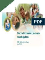 Information Landscape KB