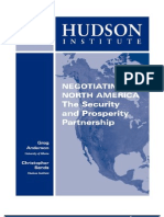 Hudson Institue Negotiating North America Advance White Paper