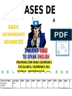 Cartel Ingles