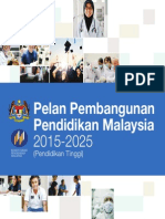 PELAN PEMBANGUNAN PENDIDIKAN MALAYSIA 2015-2025 (PENDIDIKAN TINGGI)