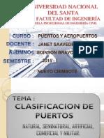 Clasificacion de Los Puertos - Exp