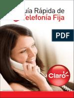 Guia Rapida Telefonia Fija - Claro