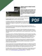 Alumnos Toman El Colegio Nacional Buenos Aires-Clase CC