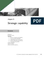 Chap - 5 Srategic Capability