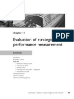 Chap - 11 Evaluation of Strategies and Performance Mesurement