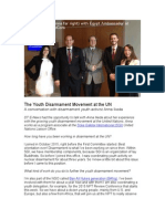 The Youth Disarmament Movement at the UN