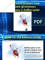 How to Use Rafflecopter