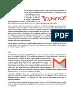 Historia de Yahoo y Gmail