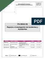 Accidentes Incidentes PG SMAC 06
