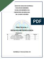 Informe Final Hidrologia, Reporte1 (Reparado) (1)