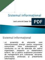 Sistemul informaţional