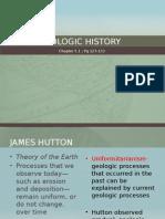 ch 5 1 geologic history