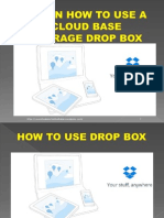 How to Use Drop Box