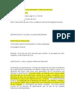 Revista Bibliográfica de Geografía y Ciencias Sociales