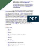 Microsoft Word Microsoft Word Es Un Software Destinado Al Procesamiento de Textos