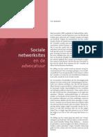Sociale Netwerksites en de Advocatuur