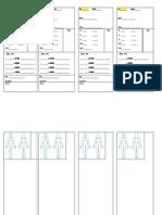Nursing Student Daily Pt Sheet