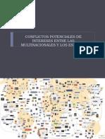 Conflictos Potenciales de Intereses Entre Las Multinacionales