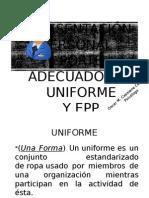 Presentación Personal y EPP