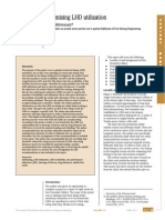 Optimizing LHD Utilization