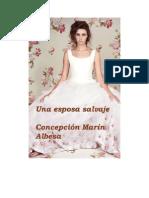 Concepción Marín Albesa - Una Esposa Salvaje