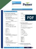 Álgebra 1 Leyes de Exponentes