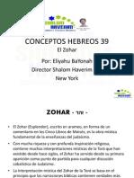 Conceptos Hebreos 39 Zohar
