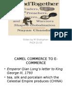 camel commerce to e commerce ppt