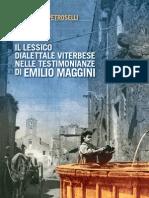 Lessico Dialettale Viterbese Di F. Petroselli