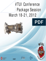 2012 WTUI Conference LM2500 Package Session March 18-21, 2012
