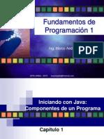 Tema 1.3 Iniciando Con Java 2015