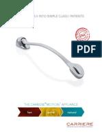 Carriere Motion Appliance Brochure International