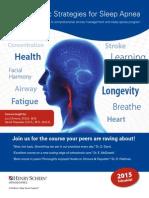 Orthodontic Strategies for Sleep Apnea Brochure