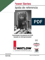 Powerseries Watlow Manual ESPñ