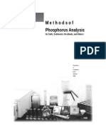 Methods of P Analysis 2000