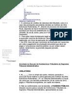 Acórdão do STA de 27/02/2013
