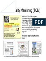 Total Quality Mentoring (TQM) Visualizaton