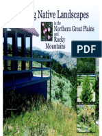 Guide to Creating Landscapes in the Northern Great Plains and Rocky Mountains