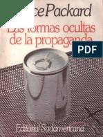 Las Formas Ocultas de Propaganda - Vance Packard