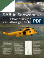 SAR in Snowdonia